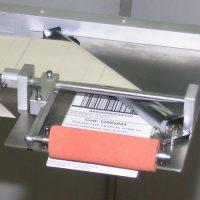 haaks afpelblad 90 graden etiketteren