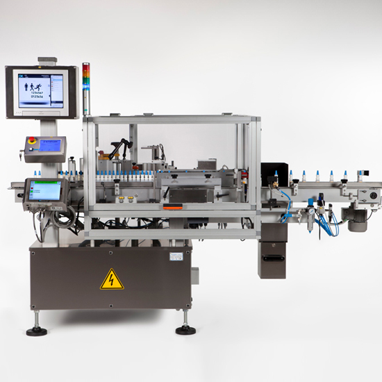 labelling system wrap around pharma