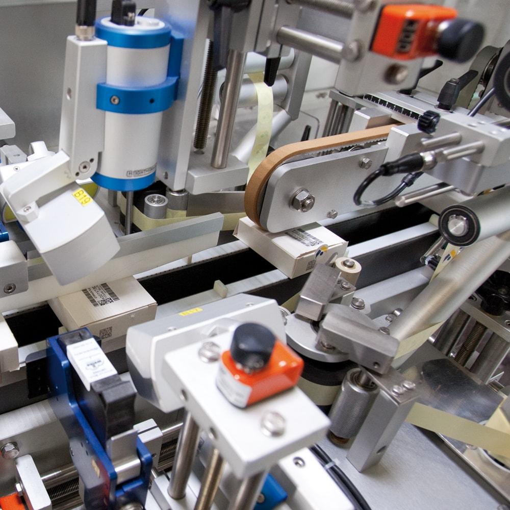 labelling system pharma
